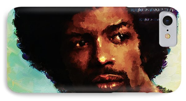 Gil IPhone Case by Howard Barry