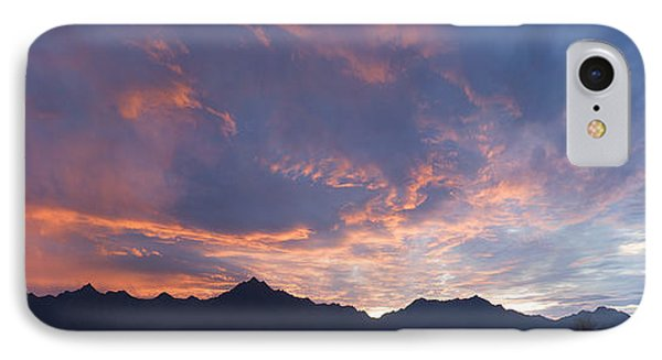 Gila River Indian Sunset Pano Phone Case by Anthony Citro