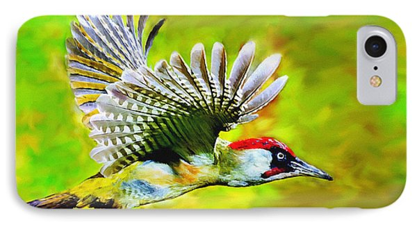 Gila Woodpecker IPhone Case by Bob and Nadine Johnston