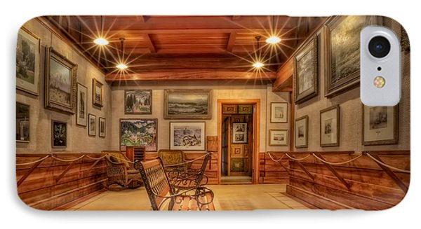 Gillette Castle Gallery Room IPhone Case