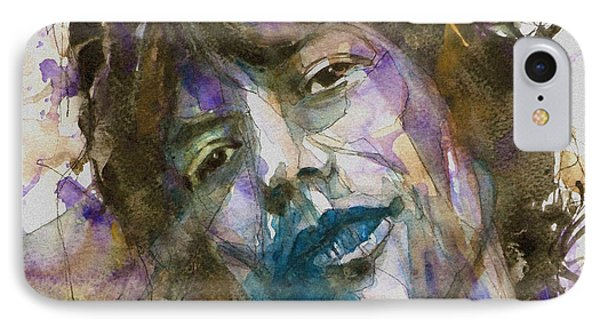 Rolling Stone Magazine iPhone 7 Case - Gimmie Shelter by Paul Lovering