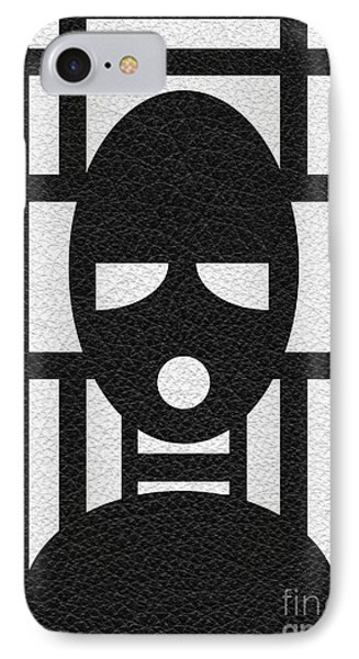 Gimp Mask IPhone Case by Roseanne Jones