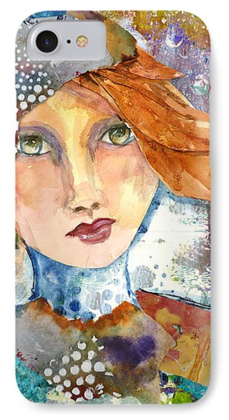 Ginger Girl IPhone Case by P Maure Bausch