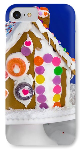 IPhone Case featuring the photograph Gingerbread House by Vizual Studio
