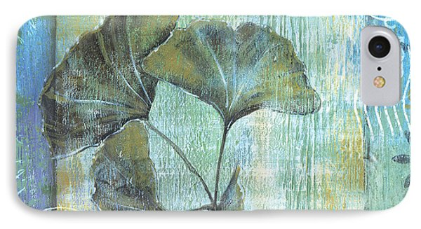 Gingko Spa 2 IPhone Case by Debbie DeWitt