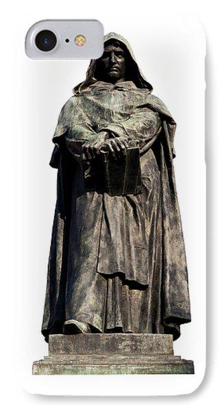 Giordano Bruno IPhone Case by Fabrizio Troiani