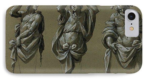 Giovanni Mauro Della Rovere Italian, 1575 - 1640 IPhone Case by Quint Lox