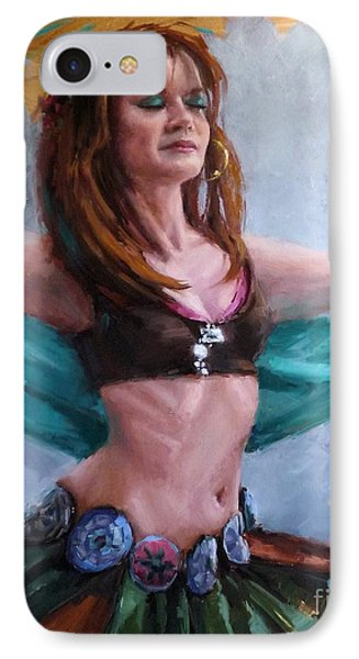 Gipsy Belly Dancer IPhone Case