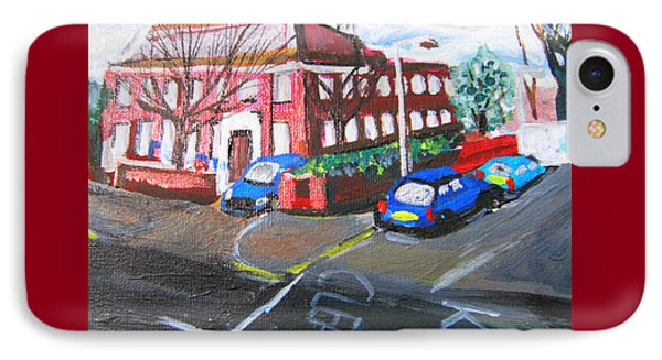 Gipsy Hill Police Station - Crystal Palace IPhone Case by Mudiama Kammoh