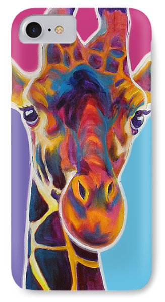 Giraffe - Marius IPhone Case by Alicia VanNoy Call