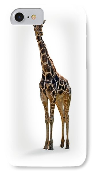 IPhone Case featuring the photograph Giraffe by Charles Beeler
