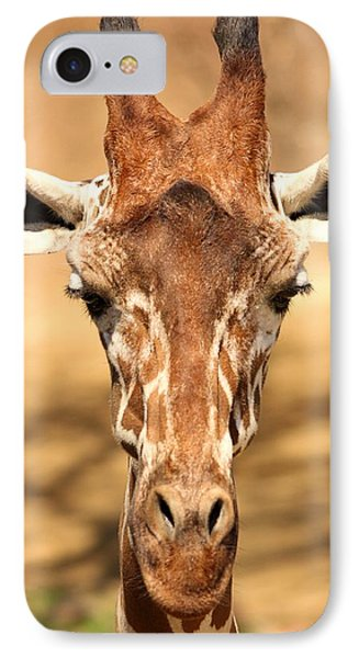IPhone Case featuring the photograph Giraffe by Elizabeth Budd