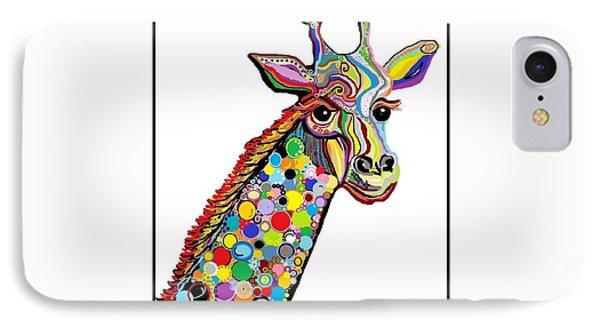 Giraffe Phone Case by Eloise Schneider