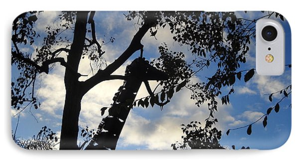 Giraffe En Sillouette IPhone Case