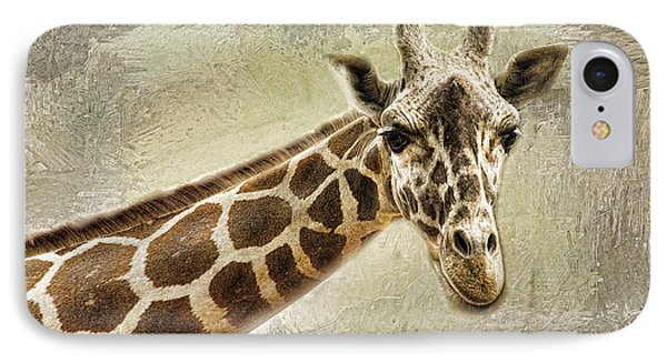 IPhone Case featuring the photograph Giraffe by Linda Blair