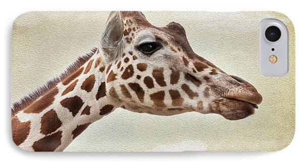 Giraffe IPhone Case by Svetlana Sewell