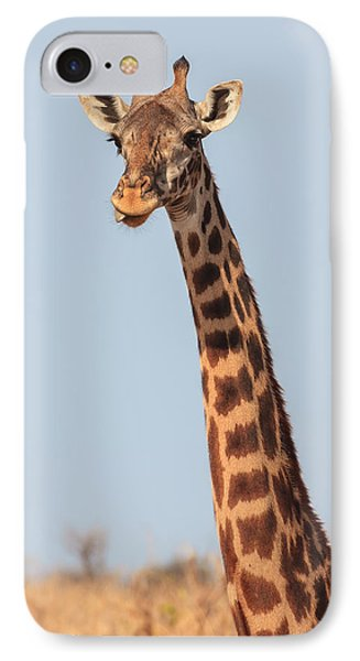 Giraffe Tongue IPhone 7 Case