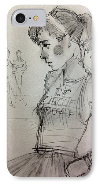 Girl IPhone Case by H James Hoff