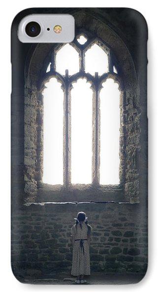 Girl In Chapel Phone Case by Joana Kruse