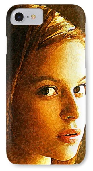 Girl Sans Phone Case by Richard Thomas