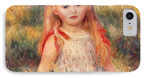 Girl With Sheaf Of Corn IPhone Case