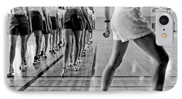 Girls In A Tap Dancing Class IPhone Case