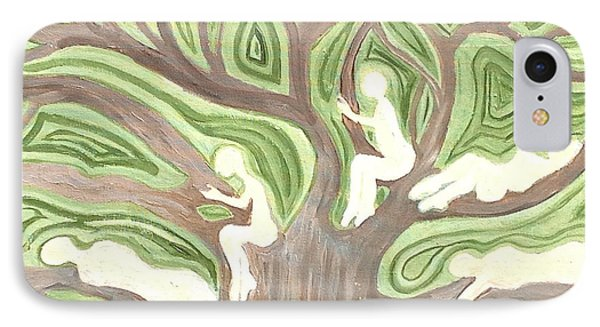 Girls In A Tree IPhone Case