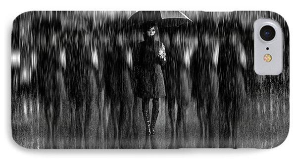 Girls In The Rain IPhone Case