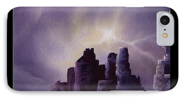 Girnigoe Castle IPhone Case