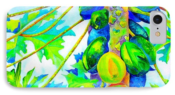 IPhone Case featuring the painting Abundant Blessings by Julie  Hoyle