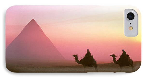 Giza Pyramids Egypt IPhone 7 Case by Panoramic Images