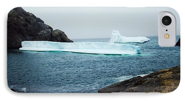 Glacial Beauty IPhone Case by Zinvolle Art