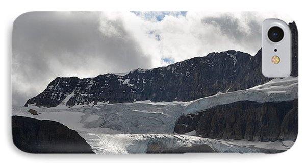 Glacial Mountain IPhone Case by Cheryl Miller