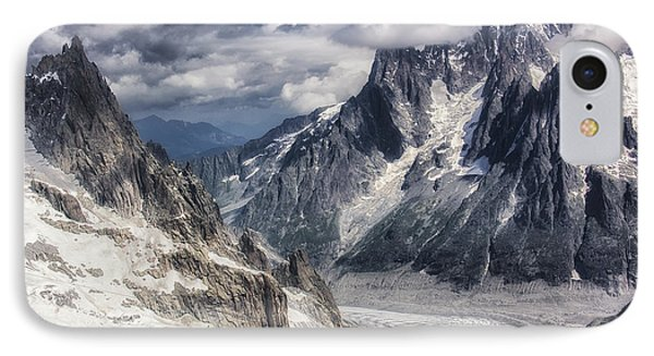 IPhone Case featuring the photograph Glacial Peaks by Wade Aiken