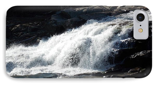 Glacial Potholes Falls IPhone Case by Catherine Gagne