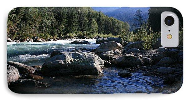 Glacial River Pool IPhone Case by Amanda Holmes Tzafrir