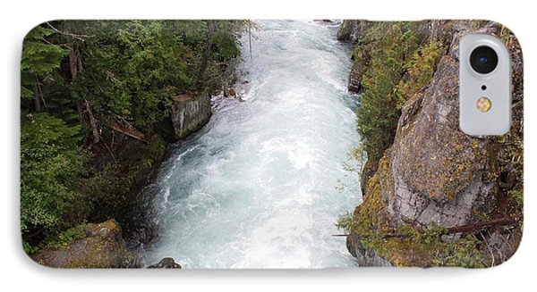 IPhone Case featuring the photograph Glacial River - Whistler by Amanda Holmes Tzafrir