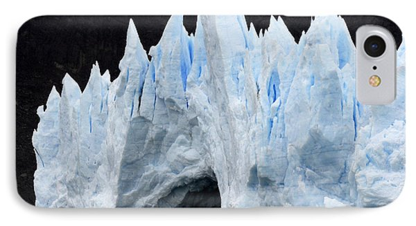 Glaciar Grey Patagonia Chile 3 Phone Case by Bob Christopher