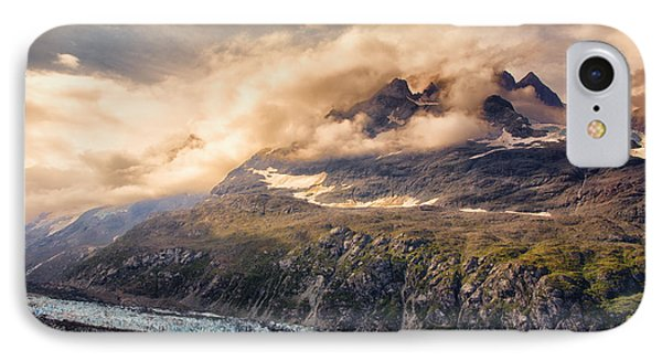 IPhone Case featuring the photograph Glacier And Peaks-glacier Bay National Park by Janis Knight