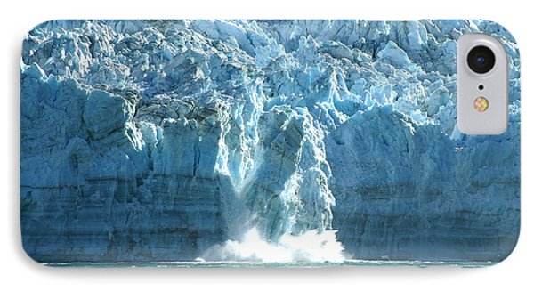 Glacier Calving Phone Case by Barbara Stellwagen