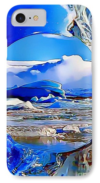 Glacier IPhone Case by Catherine Lott