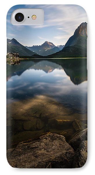 Glacier National Park 2 IPhone Case by Larry Marshall