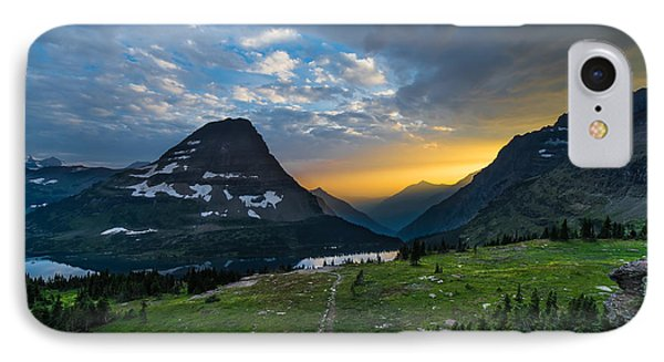 Glacier National Park 3 IPhone Case by Larry Marshall