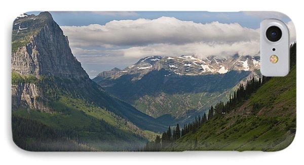 Glacier National Park Phone Case by John Shaw
