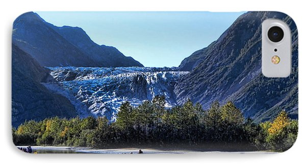 Glacier Point IPhone Case by Kathy Churchman