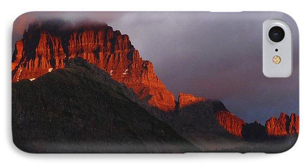 IPhone Case featuring the photograph Glacier Sunrise by Alan Socolik
