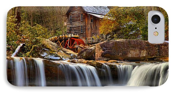 Glade Creek Cascades IPhone Case by Adam Jewell