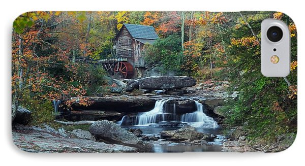 Glade Creek Grist Mill IPhone Case by Daniel Behm