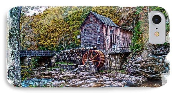 Glade Creek Grist Mill Phone Case by Randall Branham
