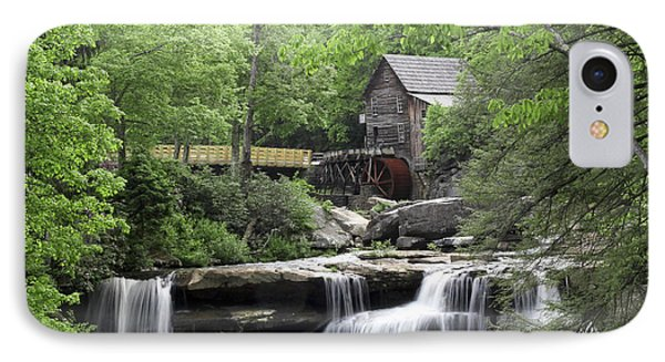 Glade Creek Grist Mill IPhone Case by Robert Camp
